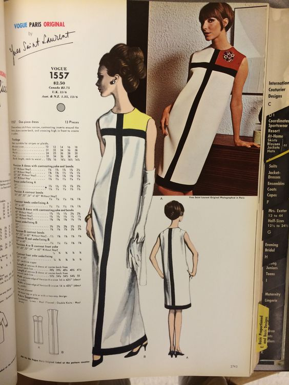 GIVEAWAY: Limited Edition Mondrian Dress Pattern – WeSewRetro.com