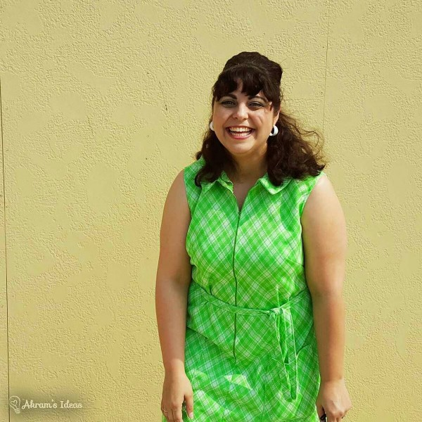 Akram's Ideas: Simplicity 7655 Day Dress