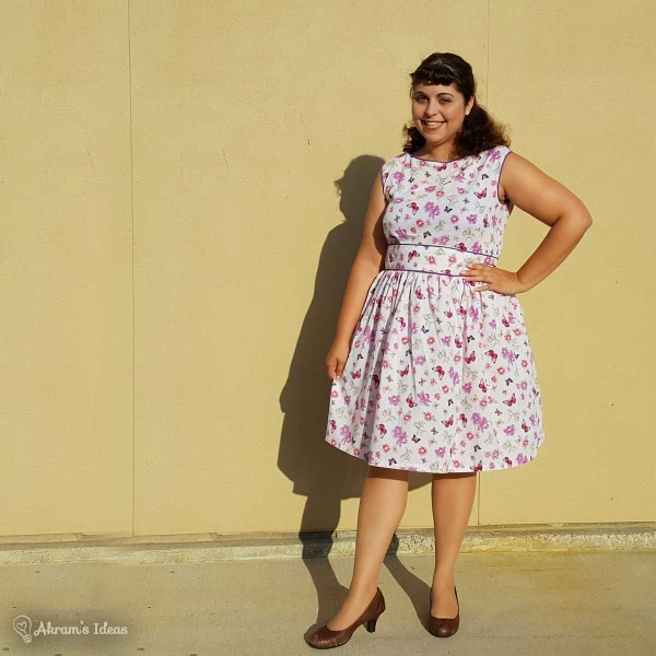 Akram's Ideas : Simplicity 1364 & Gathered Skirt