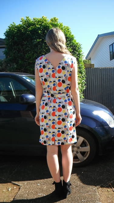 Sixties dress back