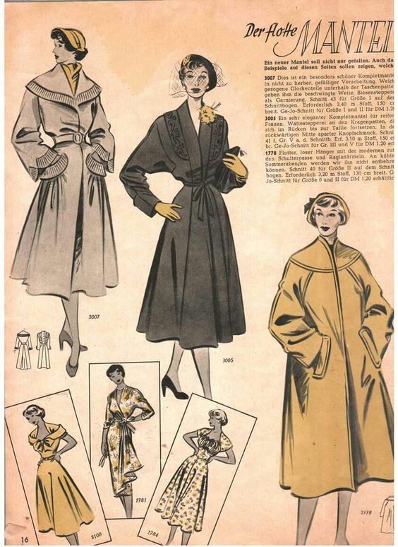 Vintage on Tap coat inspiration