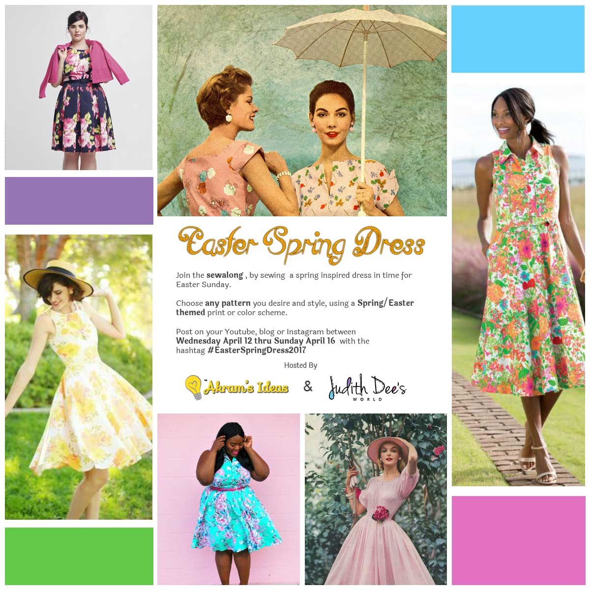 efd7119531 Join the Easter Spring Dress 2017 Sewalong – WeSewRetro.com