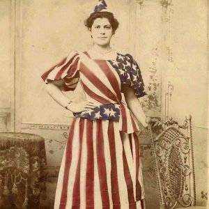4th of July Dress from early 1900's