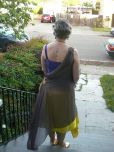 Back View of My Dress
