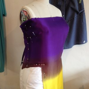 Draping the Side Bodice