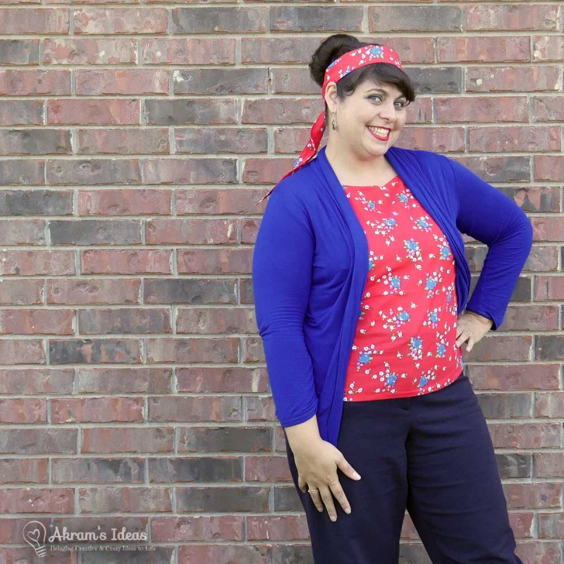 Akram's Ideas: Easy 60's Top (Vintage Butterick 3286)