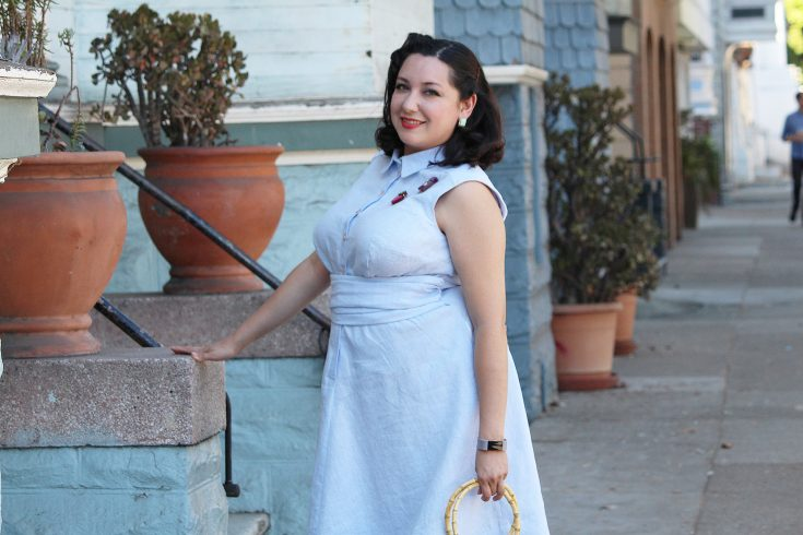 Vintage on Tap, Colette Penny dress with full tutorial | Vintage on Tap