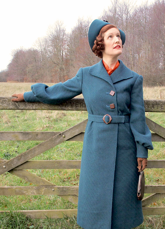1930s winter coat