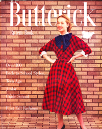 Back to School Butterick Catalog from 1952